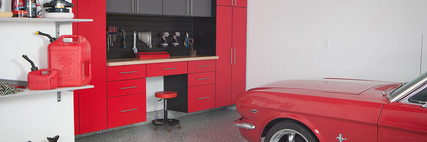 Garage Cabinets by Monkey Bars