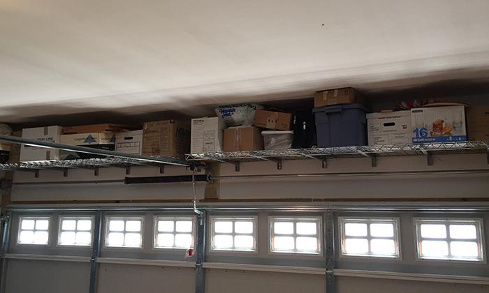 Low Pro Garage Shelves Midlands Storage Systems